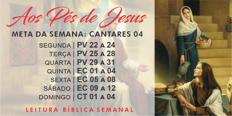 Leitura Bíblica Semanal